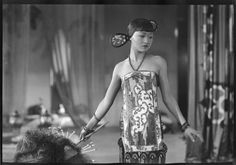 Anna May Wong in The thief of Bagdad directed by Raoul Walsh, 1924