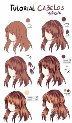 Anime Hair Color Meaning 14078 I Can T even Draw Hair to Begin with but Okay . - Anime Hair Color Meaning 14078 I Can T even Draw Hair to Begin with but Okay Informations About - Digital Painting Tutorials, Digital Art Tutorial, Art Tutorials, Digital Paintings, Painting Tools, Drawing Techniques, Drawing Tips, Drawing Ideas, Hair Styles Drawing