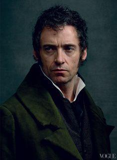 Les Mis (2012) | Hugh Jackman (Valjean) photographed by Annie Leibovitz for Vogue. Les Misérables