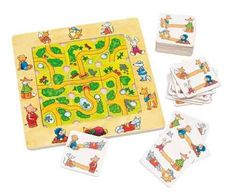 Shop Goki 56944 Puzzle Game, Find The Way, Multicolor. Puzzles, Markus Zusak, Matching Games, Agatha Christie, Classroom Activities, Games For Kids, Outdoor Blanket, Playing Cards, Kids Rugs