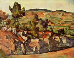 cezanne | Mountains in Provence