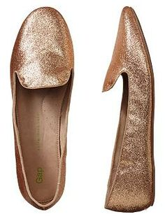 Glitter loafers   Gap $40, Loved the Kate Spade version, but these are around $150 cheaper :)