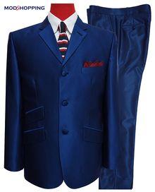Two Tone Suit Golden Blue Two Tone Tonic Suit 60s Fashion Mods Mens Suits Suits Mod Suits