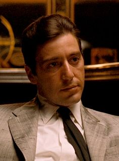 Al Pacino -The Godfather ☺️ Iconic Movies, Great Movies, Classic Movies, Imdb Movies, The Godfather Part Ii, Godfather Movie, Young Al Pacino, The Godfather Wallpaper, Don Corleone