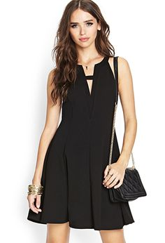 Fierce & Flared Knit Dress | FOREVER 21 - 2000105168