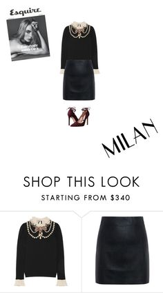 """Sparkle"" by amberp19 ❤ liked on Polyvore featuring Gucci, McQ by Alexander McQueen and Massimo Matteo"
