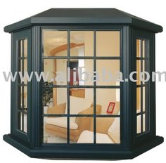 Baie window images aluminium bay bow window for Habillage fenetre baie window