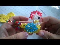 kết hạt cườm 12 con giáp gà trống #5 - YouTube