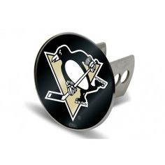 Laser-cut acrylic metal hitch covers provide a beautiful look to show off team spirit. Nhl Pittsburgh Penguins, Trailer Hitch, Cover, Accessories, Jewelry Accessories
