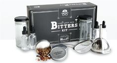 THE CRAFT YOUR OWN BITTERS KIT by HELLA BITTER on @UDKitchen http://undiscoveredkitchen.com a digital farmers' market for specialty, small batch food!