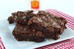 Deep South Dish: Homemade Chocolate Brownies