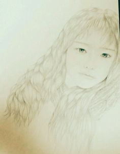 Drawing a girl,beauty in my mind