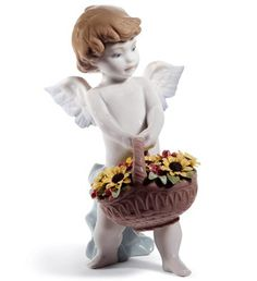Lladro 08676 HEAVEN'S HARVEST (60TH ANNIVERSARY)  http://lladro.stores.yahoo.net/0heha6an.html