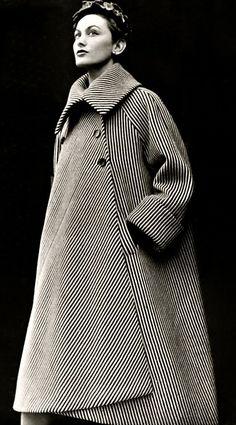 Balenciaga coat 1950's