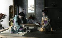 Japanese Japanese clothes Rio Ogawa tea wallpaper / Wallbase.cc