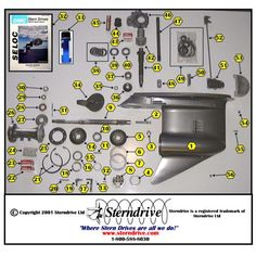 outboard motor gear assembly - Google Search