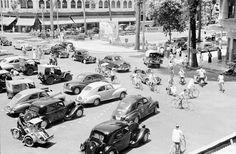 vintage everyday: Street Scenes of Saigon, Vietnam in 1950