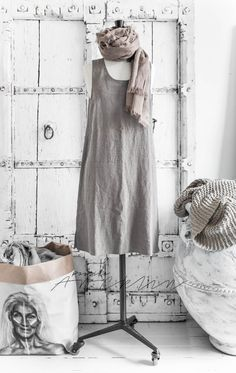 © Paulina Arcklin | LINEN INFLUENCE GOES...TO MY CLOTHES | BOHEMIANA & BY PIAS LINEN www.bypias.com