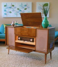 1961 Grundig Majestic Stereo Console SO 122US
