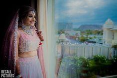 Top 15 Wedding Lehengas worn by Real Brides in Bridal Photoshoot, Bridal Shoot, Pvc Corset, Lehenga Jewellery, Reception Gown, Pink Lehenga, Wedding Company, Wedding Photography Tips, Bride Getting Ready