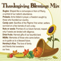 Thanksgiving Blessings Mix Gift - printable tags and bag toppers Thanksgiving Favors, Thanksgiving Prayer, Thanksgiving Blessings, Thanksgiving Preschool, Thanksgiving Parties, Thanksgiving Recipes, Thanksgiving Outfit, Thanksgiving Decorations, Blessing Mix Recipe