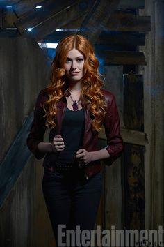 c599e07f48c9 Clary Fray played by Katherine McNamara  Shadowhunters Season 1 Abc Family