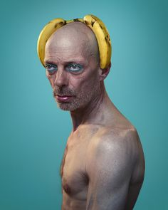 Tribute to Andy Warhol, by Benoit Paillé  We found the banana man.