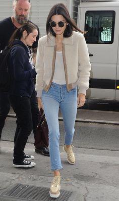 Kendall Jenner PFW October 2015