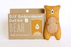 KiriKi Press - lovely DIY Toys - Bear kit | Flickr - Photo Sharing!
