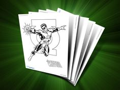 Themed Printables: Green Lantern | DC Comics