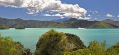 Arriving by Ferry | Marlborough Sounds New Zealand | Marlborough, New Zealand