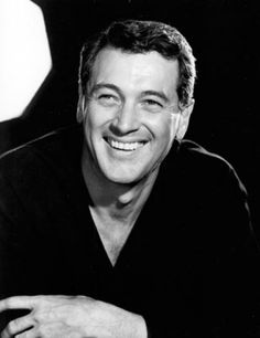 Photo of Rock Hudson for fans of Rock Hudson 30784820 Vintage Hollywood, Hollywood Glamour, Classic Hollywood, Hollywood Stars, Kristin Scott Thomas, Rock Hudson, Star Wars, Great Smiles, Hooray For Hollywood