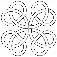 Block True Lover's Knot 28 cm (11'')