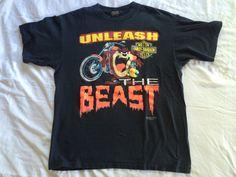 #vintage #90s XL #HarleyDavidson #TAZ #LooneyTunes #Shirt by VintageShat