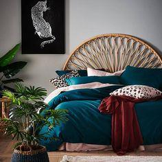 Home Republic - Bamboo Cotton Peacock Quilt Cover Peacock Room Decor, Peacock Bedroom, Peacock Bedding, Peacock Living Room, Bedroom Green, Master Bedroom, Teal Comforter, Teal Bedding Sets, Bedspread