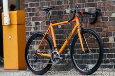 Field Cycles Orange Road Bike with Dura Ace | The Radavist