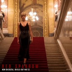 RED SPARROW Now Avai