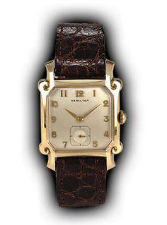 Hamilton Lloyd vintage watch, 1950s