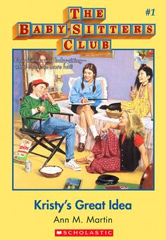 Baby Sitter's Club, by Ann M. Martin.  This book series helped create my early love for reading.