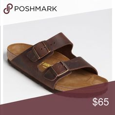979201bba Brown leather Birkenstock s size 8 Brown leather Birkenstock s size 8  Birkenstock Shoes Sandals Leather Birkenstocks