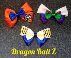 Vegeta Dragon Ball Z Inspired Bow by CStreetBoutique on Etsy