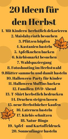 we have 20 ideas how we want to organize our autumn with the children. - Fall Crafts For Kids Fall Crafts For Kids, Crafts For Girls, Diy For Kids, Autumn Crafts, New Children's Books, Books To Buy, Herbst Bucket List, Healthy Kids, Kids And Parenting