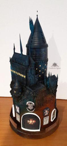 Harry Potter Cupcakes, Harry Potter Birthday Cake, First Harry Potter, Harry Potter Food, Jack Daniels Cake, Cakes By Melissa, 6th Birthday Cakes, Realistic Cakes, Creative Cake Decorating