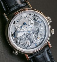 breguet tradition chronographe independent | The Breguet Tradition 7077 Chronograph Independent reference 7077BR/G1 ...