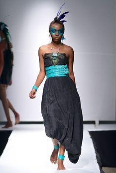 #ndaucollection Look 9 Zimbabwe Fashion Week 2013 Photography / SDR Photo