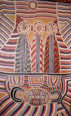 Three wise men aboriginal christian art
