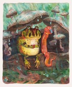 Frog & Salamander