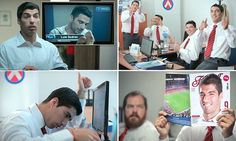 Barcelona striker Luis Suarez has numerous doppelgangers around the world. And it seems he has now finally found a way to use their talents to his advantage as he features in an advert for Abitab.
