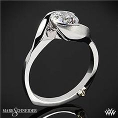 Mark Schneider Lilac Solitaire Engagement Ring