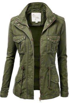 Adorable Ladies Military Jacket                                                                                                                                                                                 More